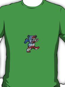 Grateful Dead Dancing Bear American Flag T-Shirt