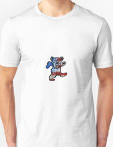 Grateful Dead Dancing Bear American Flag T-Shirt