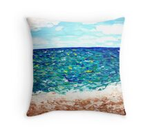 """Oceanbreeze"" Throw Pillow"