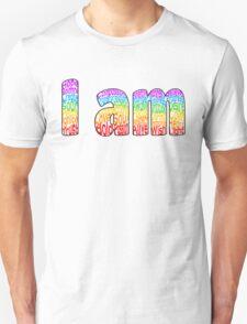 I am (Border) Unisex T-Shirt