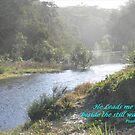 He leads me beside the still waters !!! by Heabar