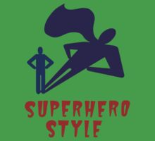 Superhero Style Kids Clothes