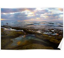 Tide Pool Reflections Poster