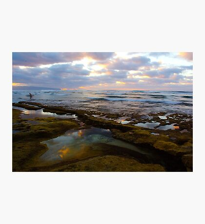 Tide Pool Reflections Photographic Print
