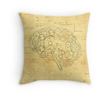 Cog-nition Throw Pillow