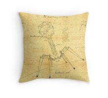 T1 Mechanovirus Throw Pillow