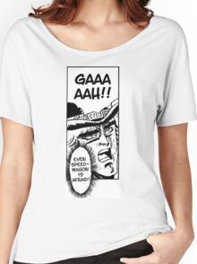 Even SpeedWagon is Afraid Women's Relaxed Fit T-Shirt