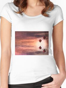 Tranquil times Women's Fitted Scoop T-Shirt