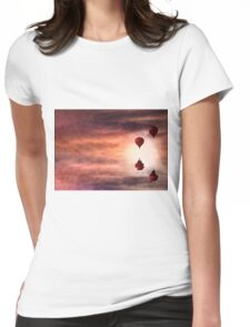 Tranquil times Womens Fitted T-Shirt