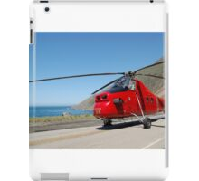 Engine 58 At Ragged Point iPad Case/Skin