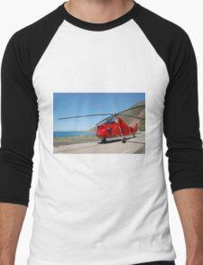 Engine 58 At Ragged Point Men's Baseball ¾ T-Shirt