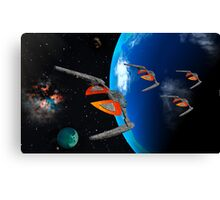 Dragon Squadron Canvas Print