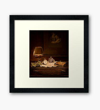 Old Masters series (print 2) Framed Print