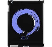 7 DAY'S OF SUMMER-YOGA ZEN RANGE- BLUE ENSO iPad Case/Skin