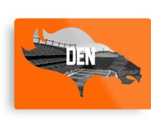 Broncos Sports Authority  Metal Print