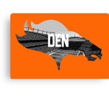 Broncos Sports Authority  Canvas Print