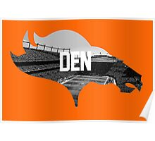 Broncos Sports Authority  Poster