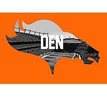 Broncos Sports Authority  Photographic Print