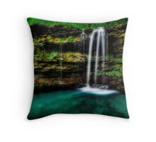 Amber Falls Throw Pillow