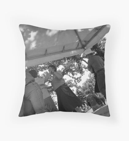 How They Do It In Minnesota Throw Pillow
