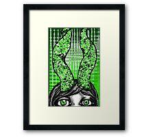 Green Goddess Delight Framed Print
