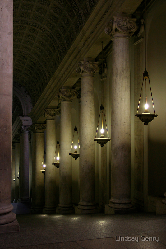 The Pope's Secret Hallway by Lindsay Genry