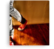 Red Shoes No. 1 Canvas Print