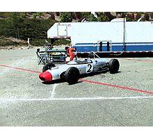 bullet racer/infenion raceway Photographic Print