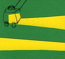 Lawn mower by David Barneda