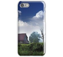 Ghost Barn on Highway 160 iPhone Case/Skin