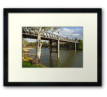 Murray River at Corowa Framed Print