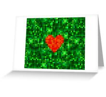 I Love Every Pixel of You Greeting Card