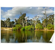 Murray River at Corowa Poster
