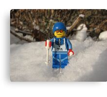 Out for a Ski! Canvas Print