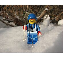 Out for a Ski! Photographic Print