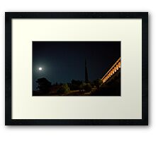 Marin County Civic Center by Frank Lloyd Wright Framed Print
