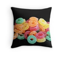 """Sugary Treats"" Throw Pillow"