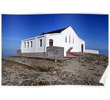 Croagh Patrick church Poster