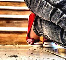 Red Shoes No. 2 by Monique Alvis