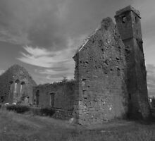 Quin Abbey church by John Quinn