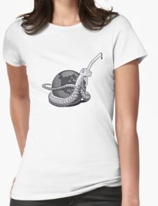 Oil Bites Womens Fitted T-Shirt