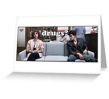 Ferris Bueller Drugs? Greeting Card
