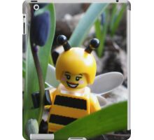 Bumblebee Lady in the Flowers iPad Case/Skin