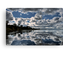 Contrast Reflection Canvas Print