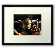 Vikings on the Rampage! Framed Print