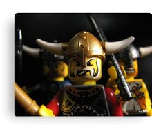 Vikings on the Rampage! Canvas Print