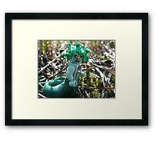 Medusa in the Swamp Framed Print