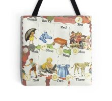 See Dick & Jane's Crazy Quilt.. Tote Bag
