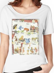 See Dick & Jane's Crazy Quilt.. Women's Relaxed Fit T-Shirt