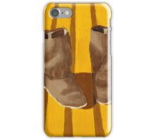 Old boots iPhone Case/Skin